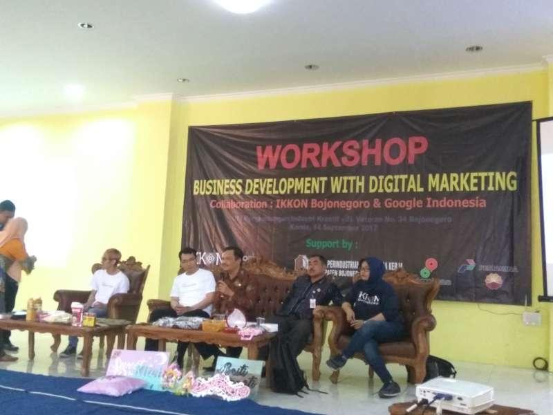 IKKON Datangkan Google ke Bojonegoro Untuk Kenalkan Digital Marketing