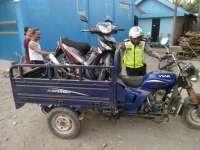 Belok Ngawur, Tossa Tabrakan dengan Motor Supra X di Kalitidu