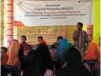 PEPC Gelar Program Sehati untuk Kader Posyandu 4 Desa