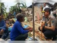 Kapolres Bojonegoro Santuni Korban Rumah Roboh di Kalitidu