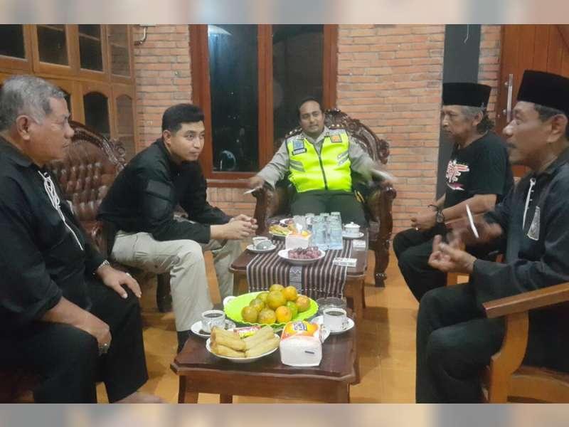 Kapolres Bojonegoro Temui Ketua PSHT Cabang Bojonegoro