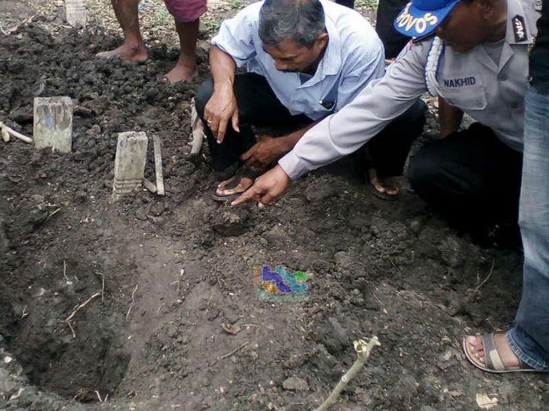 Warga Desa Mori Dihebohkan Pembongkaran Makam