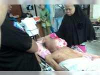 Kecelakaan Motor di Trucuk Seorang Pengendara Terluka