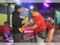 Sat Narkoba Polres Blora Razia Pengunjung Kafe di Cepu
