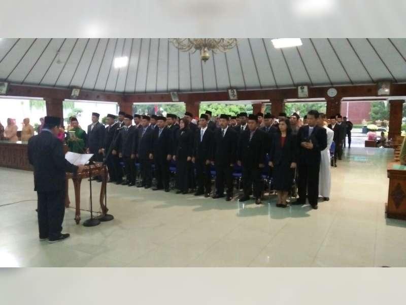 108 Pejabat Pemkab Bojonegoro Resmi Tempati Posisi Baru