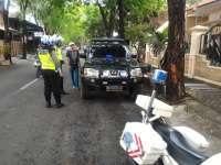 Satlantas Polres Bojonegoro Tindak Kendaraan Yang Gunakan Strobo