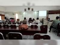 DPMD Lakukan Tes Bakal Calon Kades PAW Desa Beged