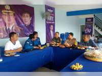 Jelang Pemilukada Serentak, Kapolres Bojonegoro Sambangi Kantor DPC Partai Demokrat