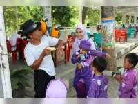 Taman Tirtonadi Jadi Wahana Edukasi Pengenalan Burung bagi Anak-Anak