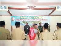 Sejumlah Kepala Desa Laksanakan Pelantikan Perangkat Desa Baru