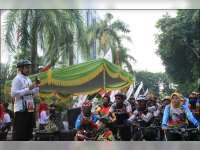 1500 Peserta Ramaikan Gowes Nusantara