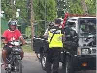 Operasi Zebra Hari ke-13, Polisi Tindak 128 Pelanggar