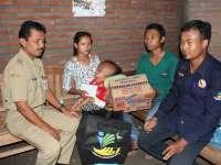 Terima Bantuan Sosial, Balita Penderita Hidrocephalus Dirujuk ke RSUP Sarjito Yogyakarta