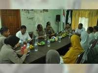 Silaturrahmi ke DPD Partai PKS, Kapolres Berpesan Agar Partai Juga Harus Siap Kalah