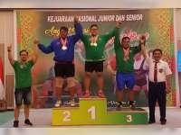 Atlet Bojonegoro Raih Medali Emas di Kejurnas Angkat Besi dan Angkat Berat 2017 di Riau