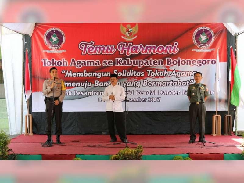 Kapolres Bojonegoro Ajak Tokoh Agama Jaga Kedaulatan NKRI