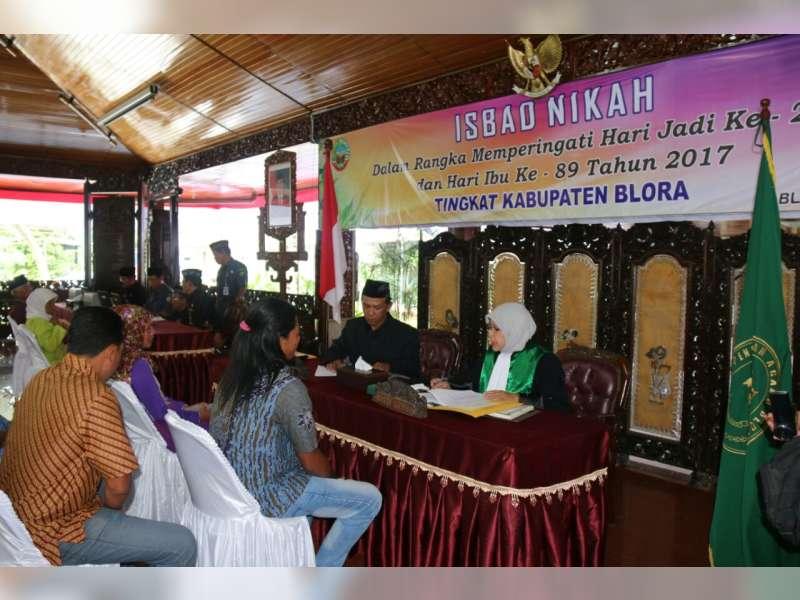 Pemkab Blora Adakan Sidang Isbad Nikah Secara Massal