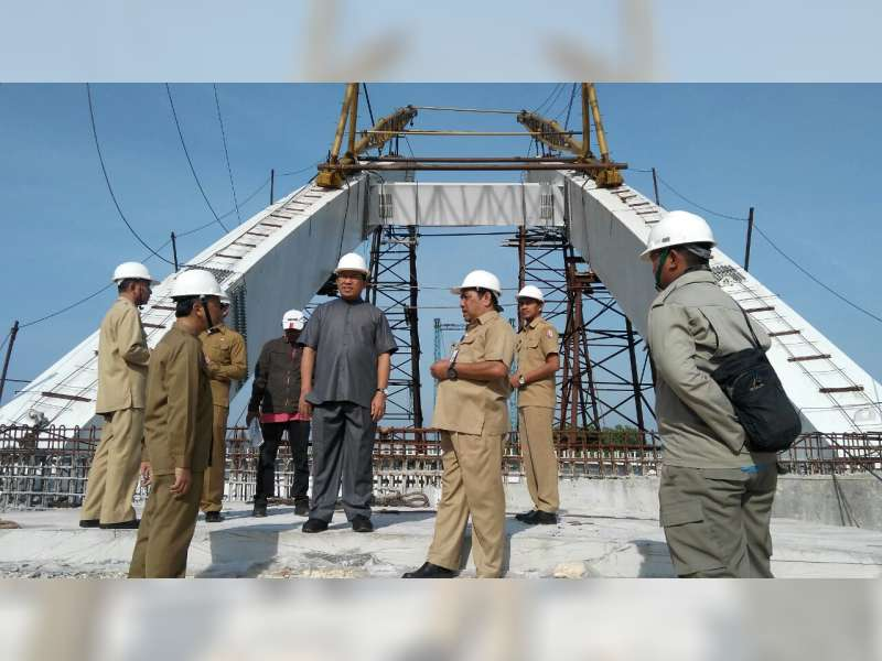 Pembangunan Jembatan Trucuk Selesai Akhir Desember Diragukan