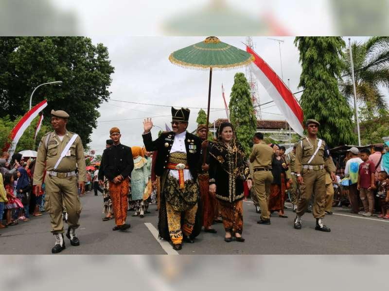 Kirab Budaya Hari Jadi Blora Ke 268 Berlangsung Meriah