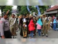 Ratusan Anggota Keamanan di Terjunkan Untuk Pengamanan Kirab Budaya