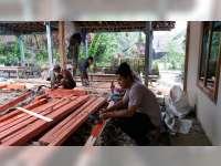 Rumah Mbah Panidin Warga Sekar Yang Tinggal Sebatangkara, Mulai Dibangun
