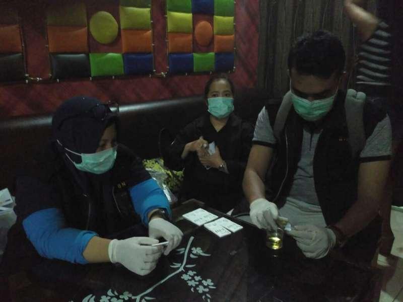 Antisipasi Peredaran Narkoba BNNP Jateng Kosek Hiburan Malam Di Cepu