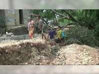 Jalan Penghubung Desa di Blora Ambles