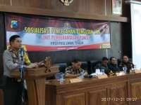 Polres Bojonegoro dan Pemkab Gelar Sosialisasi Pencegahan Pungli