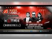 Kotak dan Burgerkill Akan Perform di Bojonegoro 20 Januari 2018