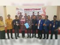 Pasangan Mahfudhoh Suyoto – Kuswiyanto Daftar Cabup-Cawabup di KPU Bojonegoro