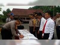 Polres Bojonegoro Gelar Penandatanganan Pakta Integritas Bebas KKN