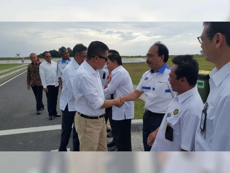Menteri ESDM Kunjungi Proyek JTB