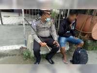 Razia Gabungan Satlantas Polres Bojonegoro, Temukan Pemuda Bawa Senjatan Tajam