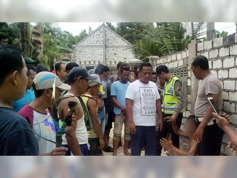 Bacok Tetangganya dan Nyaris Dihakimi Masa, Pria Gangguan Jiwa di Trucuk Diamankan Polisi