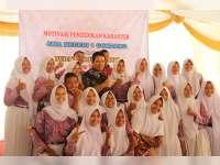 Bupati Suyoto Bakar Semangat Belajar Anak-Anak SMAN 1 Gondang
