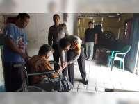 Keluarga Kurang Mampu di Baureno, Mendapat Bantuan dari Kapolres Bojonegoro