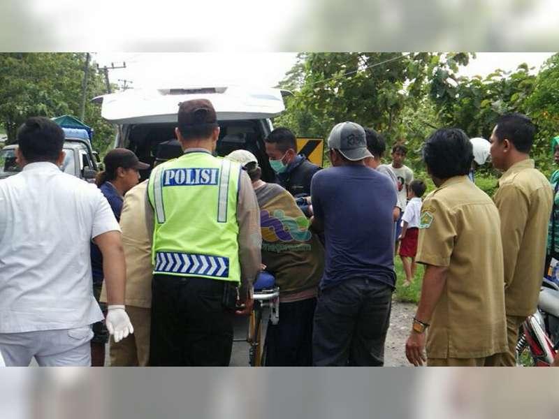 2 Orang Pelajar Pengendara Motor di Margomulyo Jadi Korban Tabrak Lari