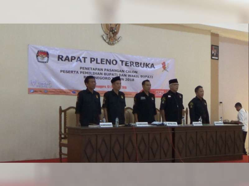 KPU Tetapkan 4 Paslon Bupati dan Wakil Bupati Bojonegoro