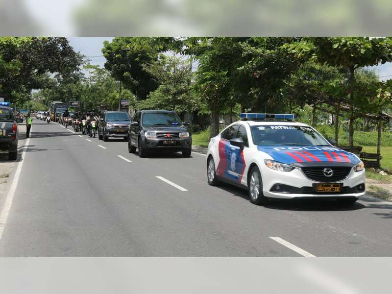 Jelang Pilkada Serentak 2018, Kapolres Bojonegoro Pimpin Patroli Skala Besar