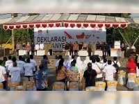 KPU Gelar Deklarasi Kampanye Damai Pemilukada Bojonegoro