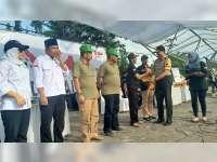 Kapolres Bojonegoro Serahkan Pengawal Pribadi Pada KPUD, Panwas dan Cabup-Cawabup