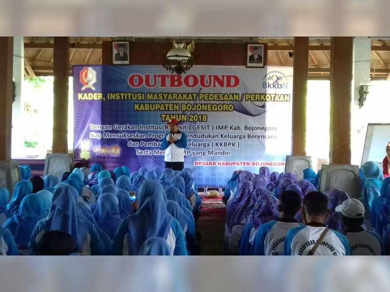 DP3AKB Asah Kekompakan Pegawai dengan Outbond