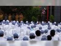 Bupati Suyoto Bakar Semangat Pelajar SMAN 1 Baureno