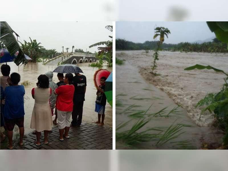 Lagi, Banjir Bandang Terjadi di Gondang, 19 Rumah Warga Tergenang