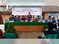 Desa Ngraho Kecamatan Gayam, Deklarasikan Sebagai Kawasan Bebas Sampah