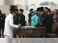 Gubernur Jatim Lantik Pejabat Bupati Bojonegoro