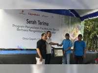EMCL Serah-Terimakan Bantuan Fasilitas Air Bersih Pada Warga Desa Gayam