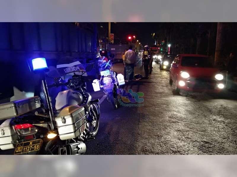 Kecelakaan Beruntun di Bojonegoro, Seorang Pemotor Meninggal Dunia di TKP
