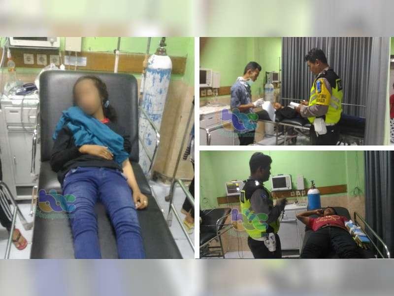 Kecelakaan Motor di Baureno, Tiga Orang Masuk Rumah Sakit