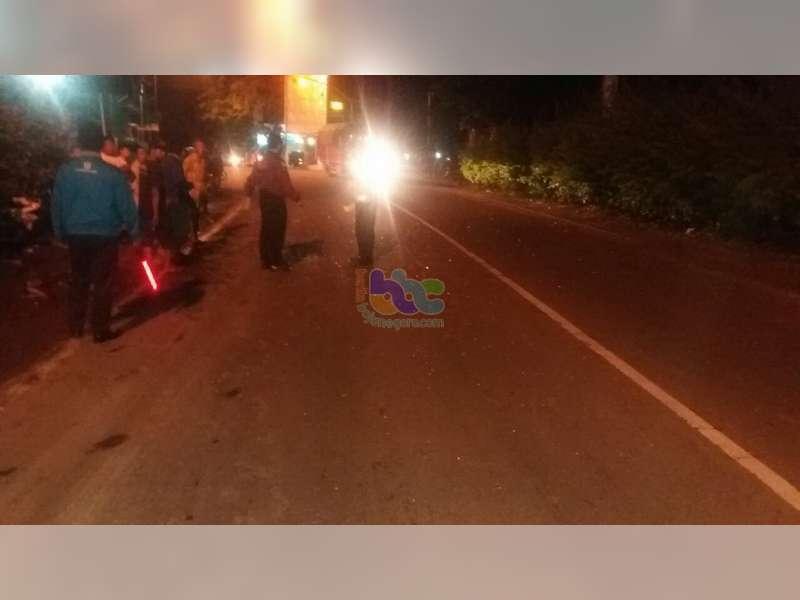 Motor Ditabrak Truk di Proliman Kapas, Pengendara Motor Masuk Rumah Sakit